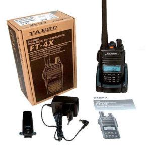 Yaesu FT-4XE box